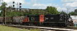 CN EMDs on Gilman Local